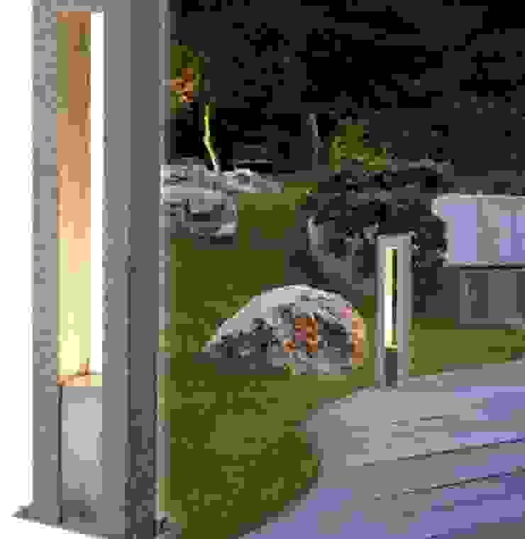 Trend Aydınlatma / Kazancı Aydınlatma – Arrock Granit Taş Bollard: modern tarz , Modern