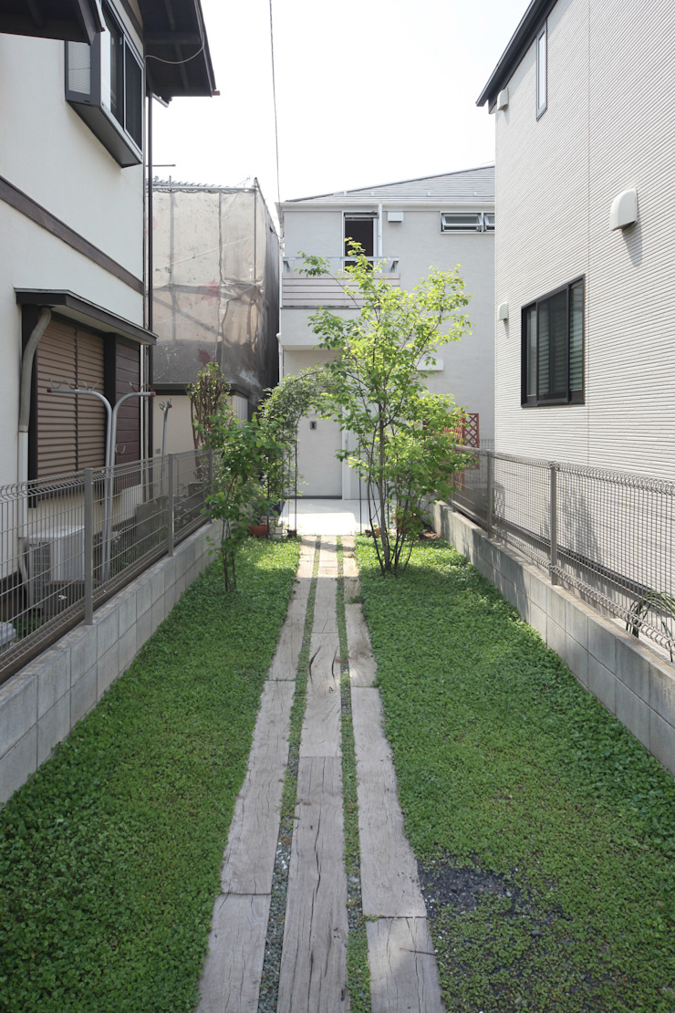 清瀬の住宅 オリジナルな 家 の 佐藤重徳建築設計事務所 オリジナル