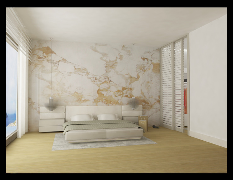 Yatak odası Modern Yatak Odası Archidecors Modern