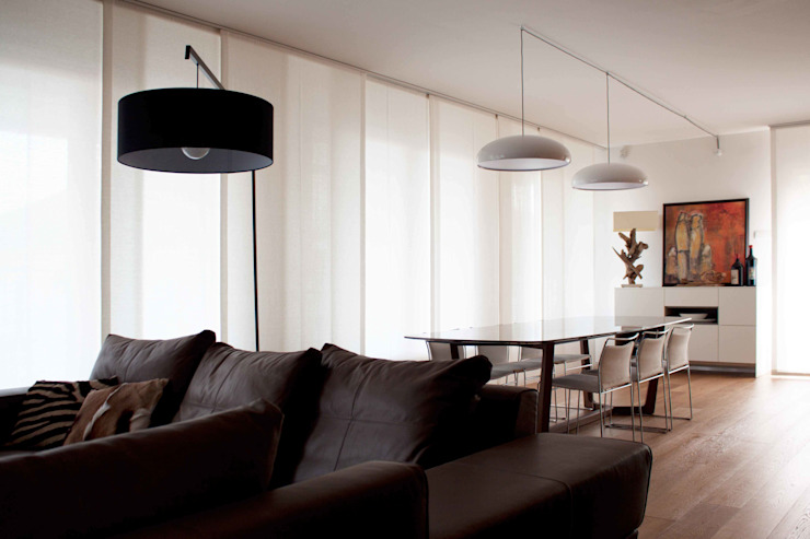 Modern Living Room by davide petronici | architettura Modern