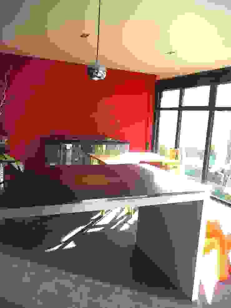 ALEXANDRA BETANCOURT ARCHITECTE Modern Yemek Odası