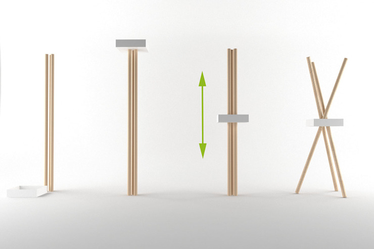 Sistema di montaggio di Architetto Paola Cocco Moderno