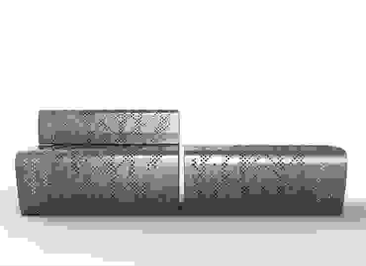 Berta Bench / Furniture:  de estilo industrial de KXdesigners , Industrial