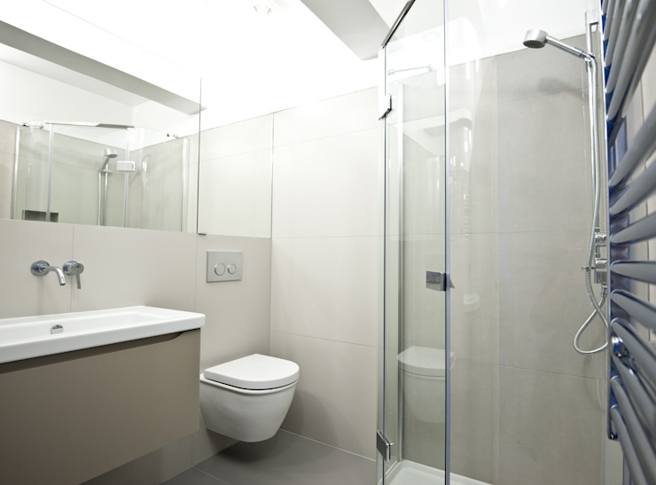 City Pied a Terre Black and Milk | Interior Design | London Minimalist style bathrooms