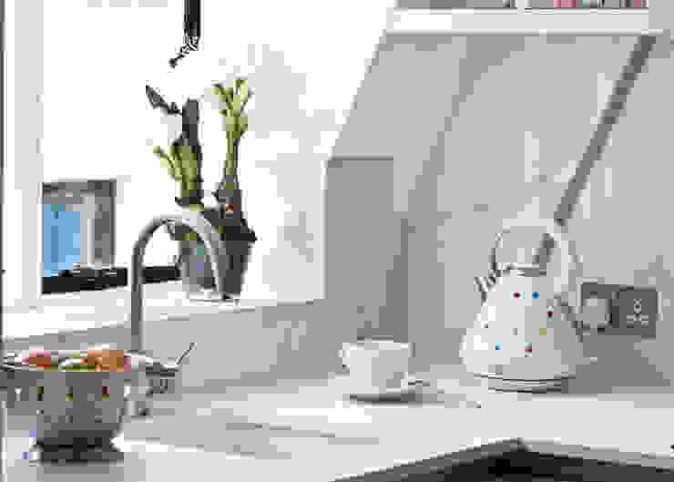 City Pied a Terre Black and Milk | Interior Design | London Cocinas de estilo moderno