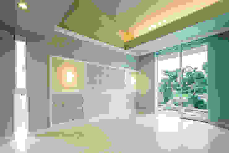 菅原浩太建築設計事務所 Scandinavian style bedroom