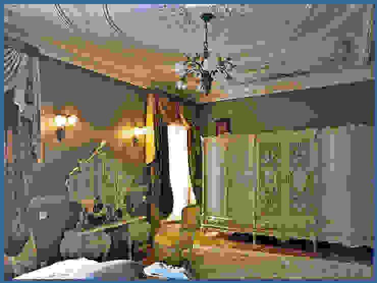 роспись потолка Спальня в классическом стиле от Абрикос Классический