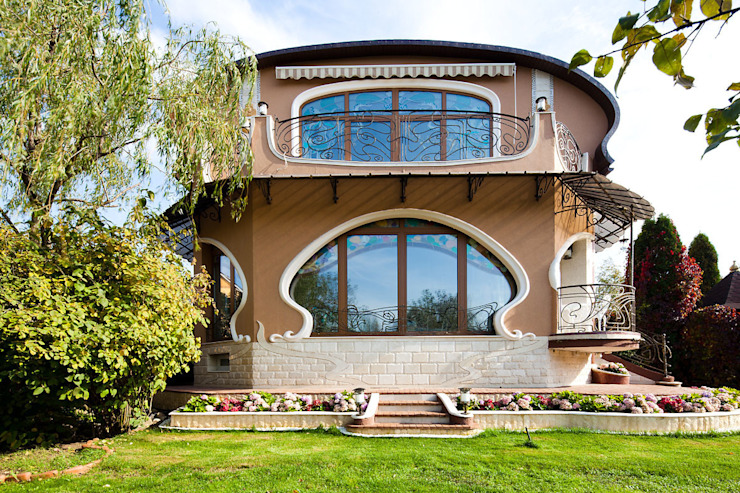 Houses by Архитектурное бюро и дизайн студия 'Линия 8',