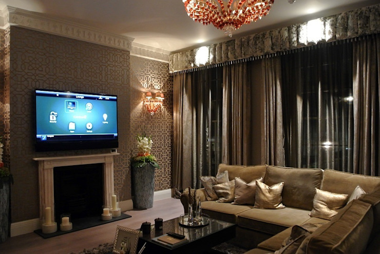 Luxury London townhouse Modern living room by Inspire Audio Visual Modern