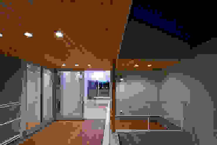 スルウ モダンデザインの テラス の 一級建築士事務所 楽工舎 モダン