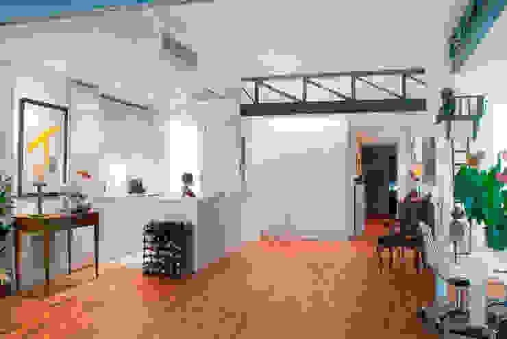 Loft de nueva creación Cocinas de estilo minimalista de Torres Estudio Arquitectura Interior Minimalista