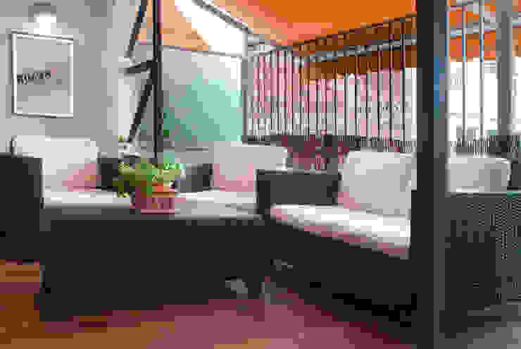 Newly created loft Varandas, alpendres e terraços modernos por Torres Estudio Arquitectura Interior Moderno