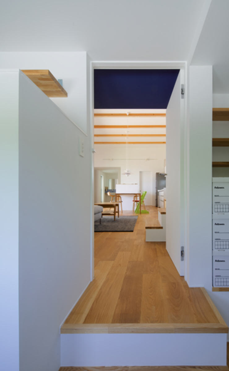n・D モダンデザインの 書斎 の 一級建築士事務所 楽工舎 モダン