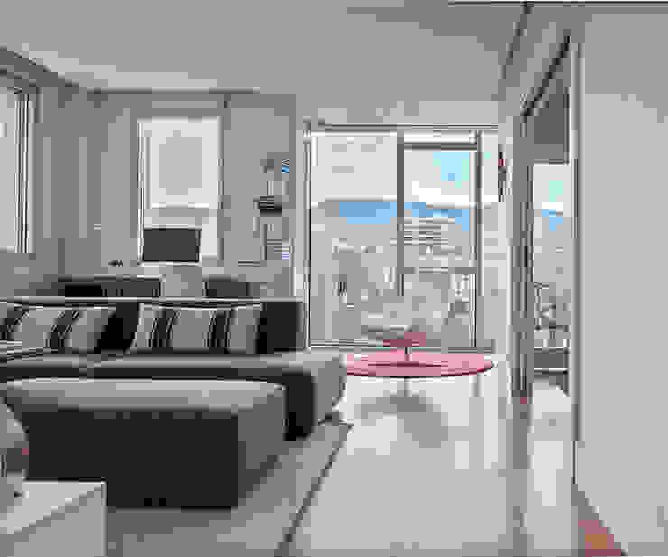 Proyecto decoración Plaza Euskadi. | Bilbao. Salones de estilo moderno de Urbana Interiorismo Moderno