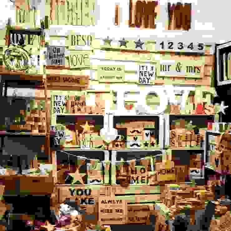 Atelier Vintage Espacios comerciales de estilo industrial de Atelier Vintage 50 Industrial