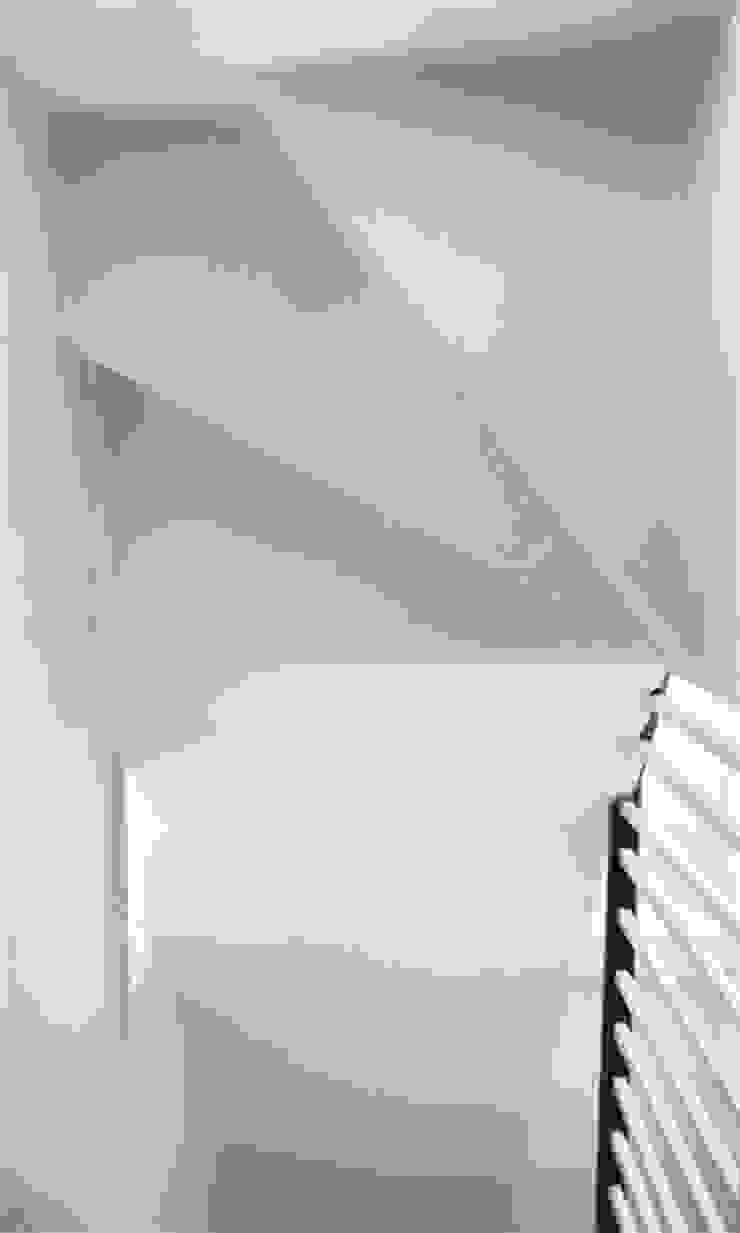 Alderney St. Modern corridor, hallway & stairs by CBOArchitects Modern