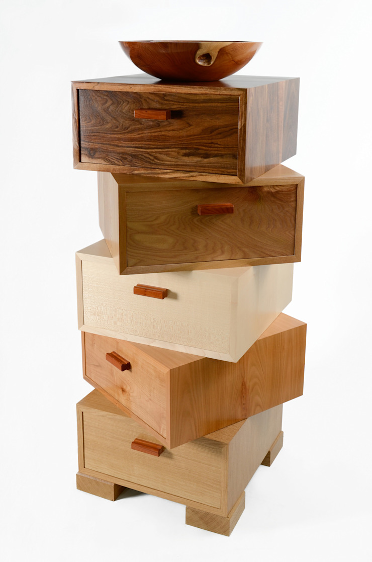 The Magnetic Stack: modern  by Radiance Furniture Design, Modern