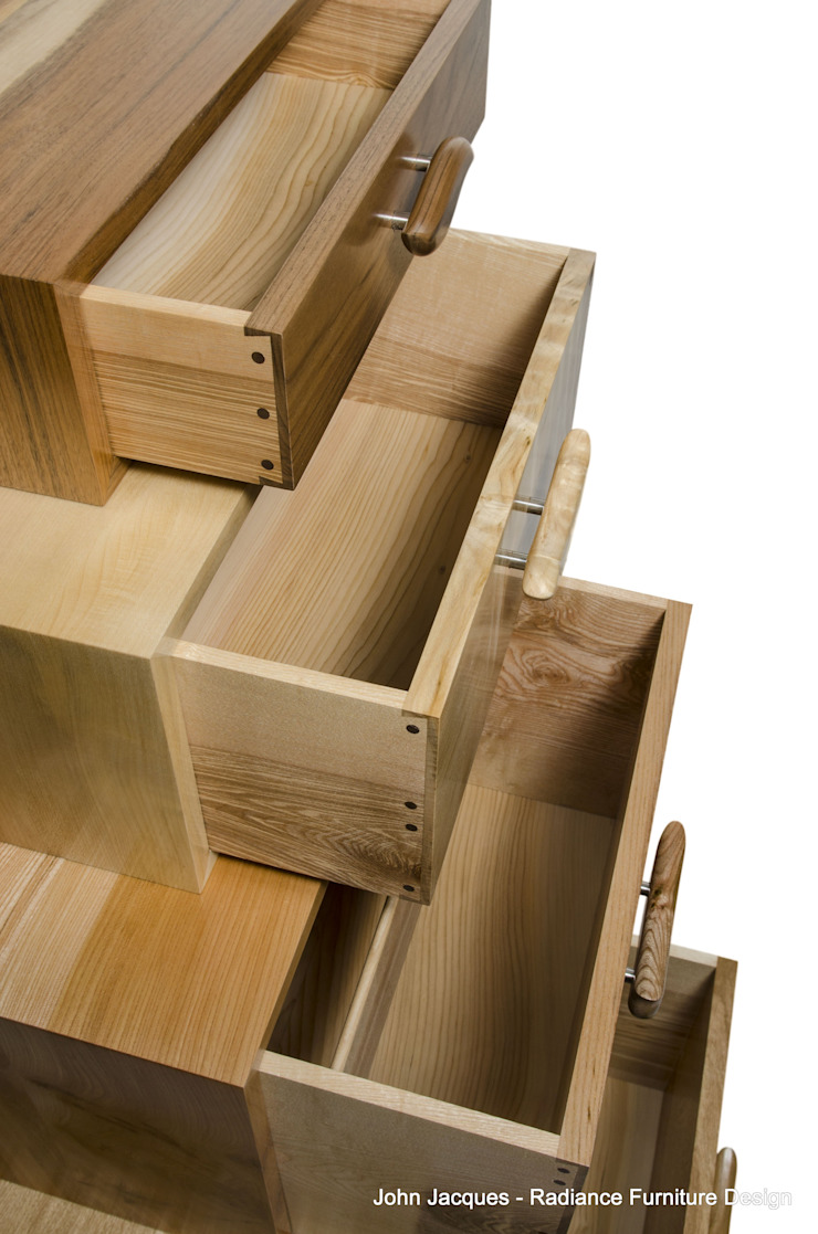 The Heeley Magnetic Stack: modern  by Radiance Furniture Design, Modern