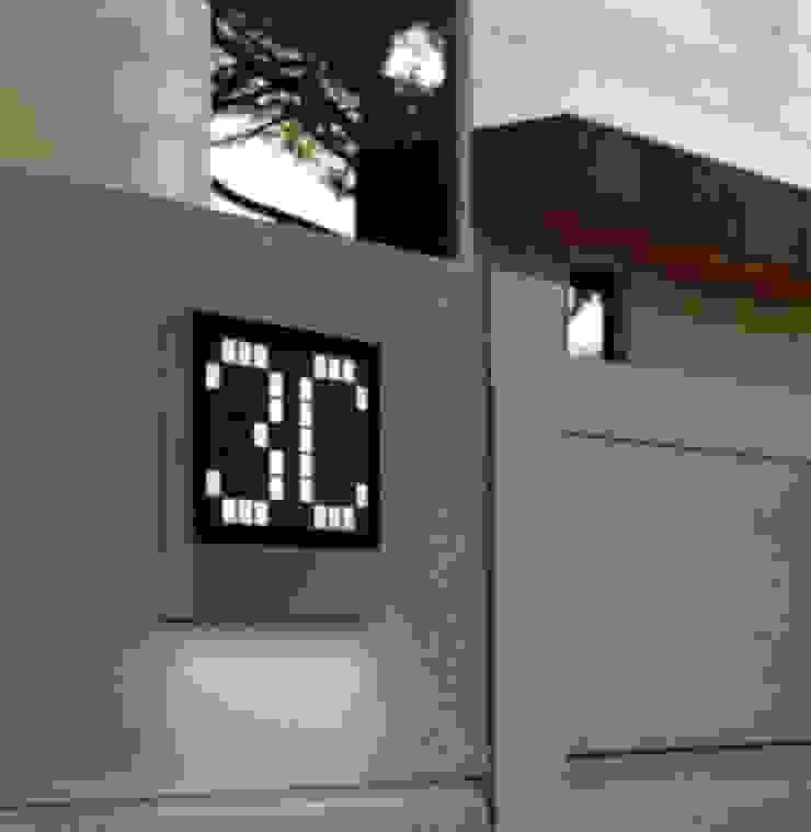 Trend Aydınlatma / Kazancı Aydınlatma – Lottery Ledli Kapı Önü Aplik: modern tarz , Modern