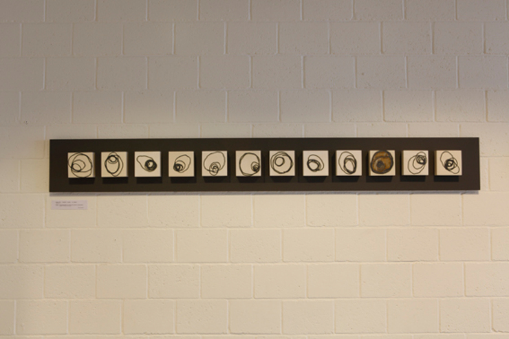 Signals of life - E - Composition   I : modern  door Marc Verbruggen - ceramic art  , Modern