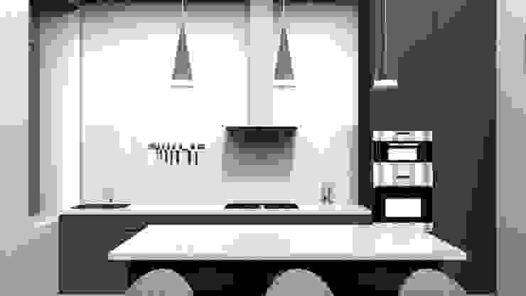 Modern kitchen by GAEL DEVINCK AGENCE FSA Modern