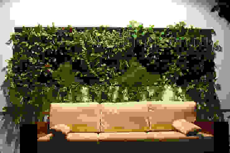 Фитостена в рабочем кабинете Рабочий кабинет в классическом стиле от Зеленый мир Классический