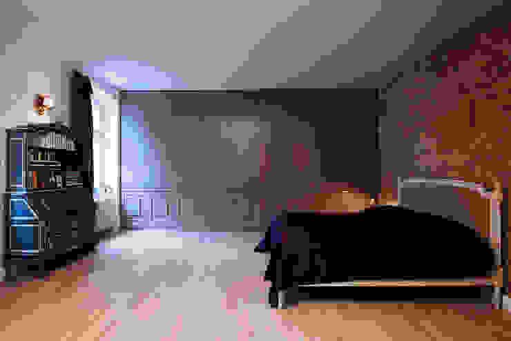 yogaloft Ausgefallene Schlafzimmer von spreeformat architekten GmbH Ausgefallen