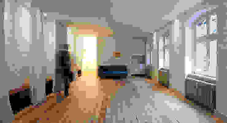 spreeformat architekten GmbH ミニマルデザインの 書斎