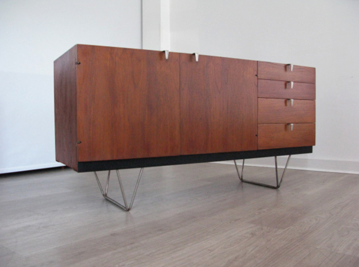 A 1950s/60s teak 'S Range' sideboard by John & Sylvia Reid for Stag Funky Junky 다이닝 룸드레서 & 사이드보드