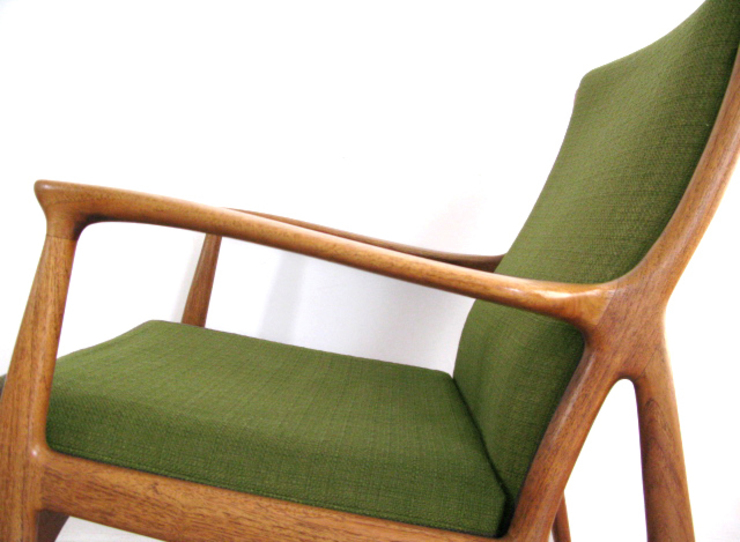 1960s lounge chair by Andersen & Andersen and Palle Pedersen For Horsnaes, Denmark: scandinavian  by Funky Junky, Scandinavian