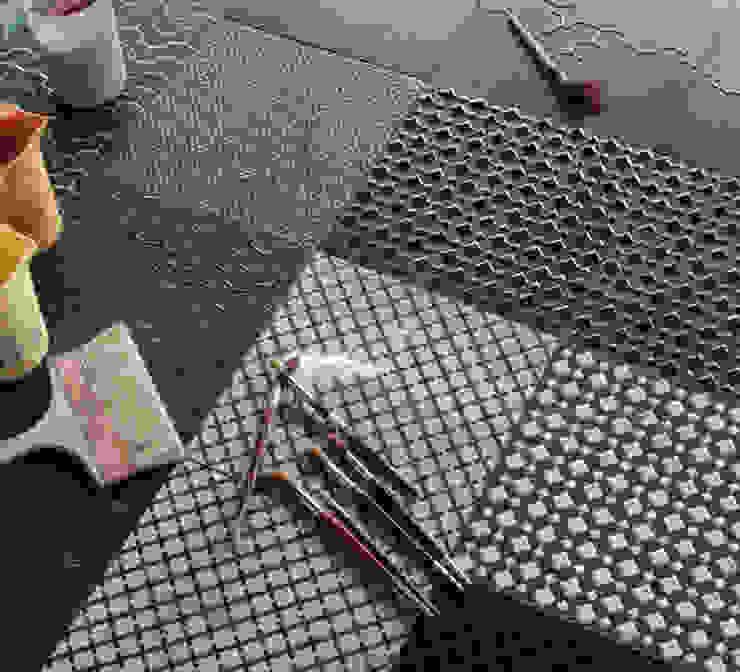 Urban design for tile:  in stile industriale di improntabarre - Handcraft & Design Laboratory, Industrial