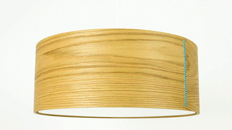 DIA Pendelleuchte : modern  von zweigespann – Atelier für Gestaltung,Modern Holz Holznachbildung