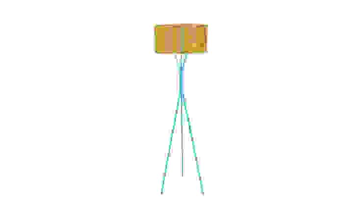 DIA Stehleuchte : modern  von zweigespann – Atelier für Gestaltung,Modern Metall