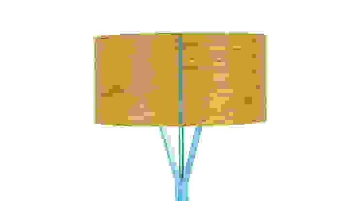 DIA Stehleuchte : modern  von zweigespann – Atelier für Gestaltung,Modern Holz Holznachbildung