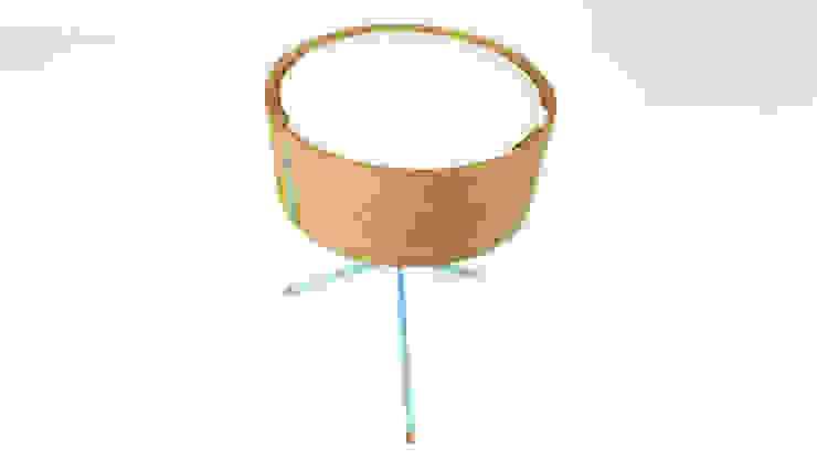 DIA Tischleuchte : modern  von zweigespann – Atelier für Gestaltung,Modern Metall