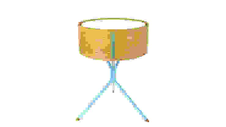 DIA Tischleuchte : modern  von zweigespann – Atelier für Gestaltung,Modern Holz Holznachbildung