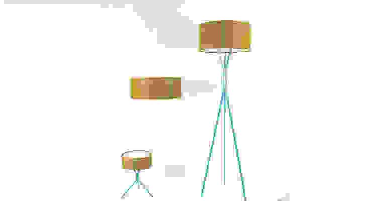 DIA Leuchtenkollektion: modern  von zweigespann – Atelier für Gestaltung,Modern Holz Holznachbildung