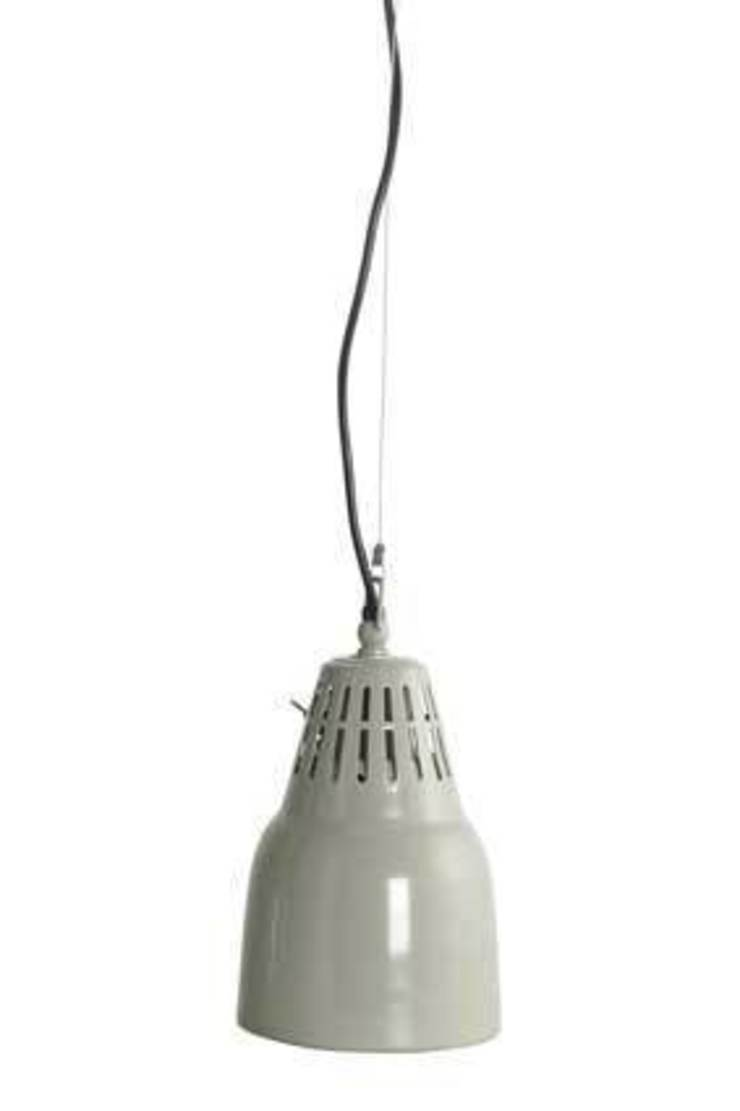 Vintage Style Grey Pendant Light: industrial  by House Envy, Industrial
