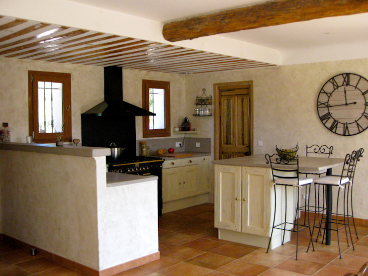 B.Inside Kitchen