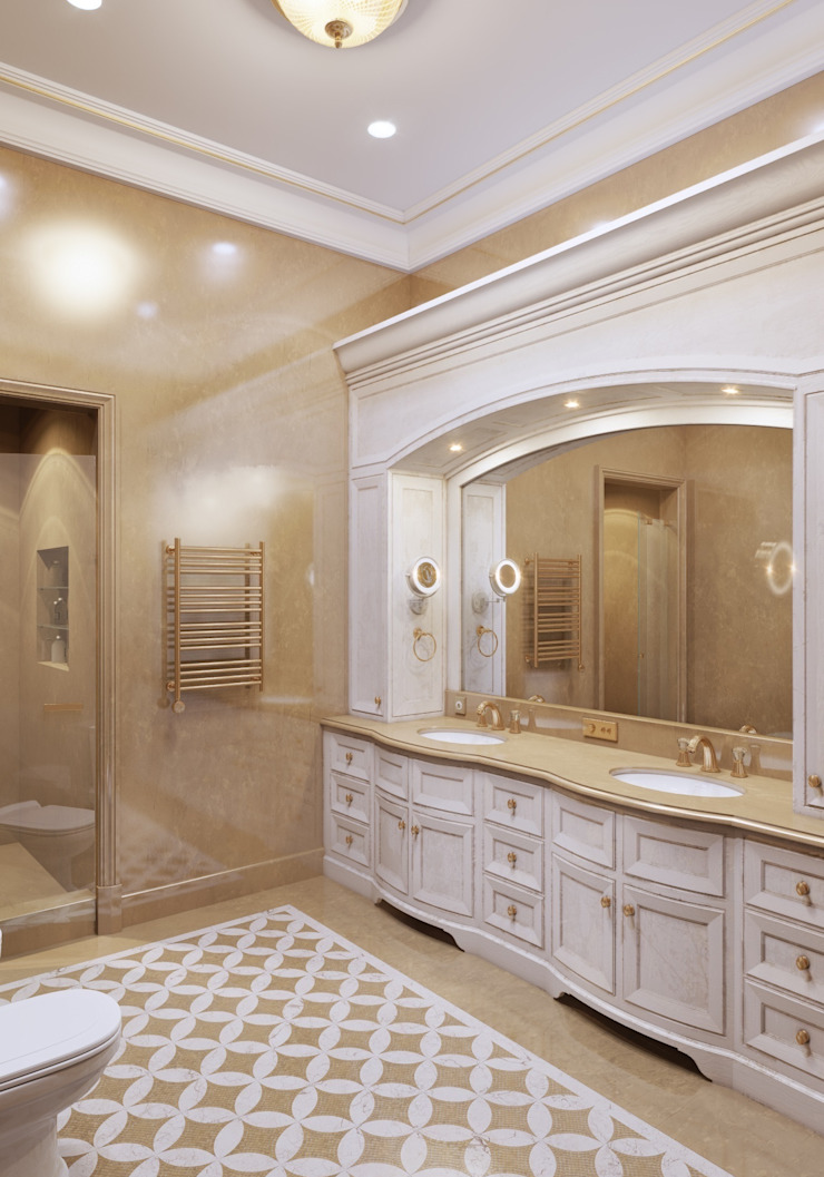 Ванная главная от Архитектор Николай Бахтинов