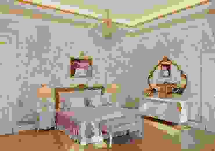 Спальня главная от Архитектор Николай Бахтинов