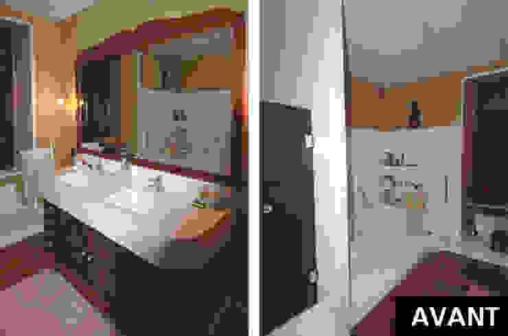 Salle de bains Salle de bain classique par ARMOR ARCHITECTURE ASSOCIES Classique