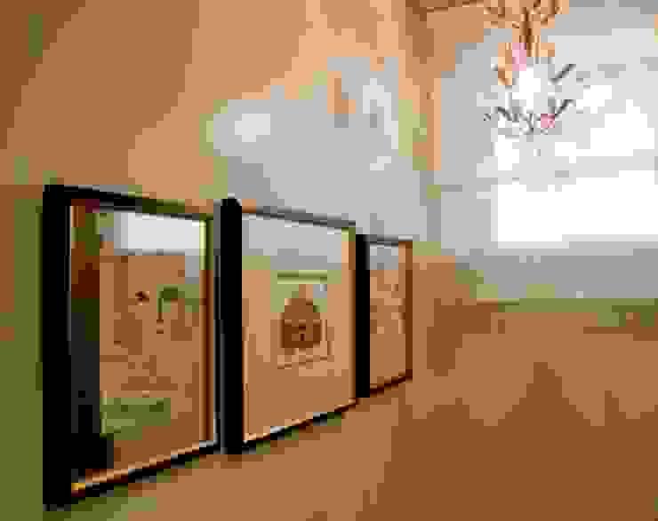 Projeto arquitetônico de interiores para residencia unifamiliar. (Fotos: Lio Simas) Banheiros ecléticos por ArchDesign STUDIO Eclético