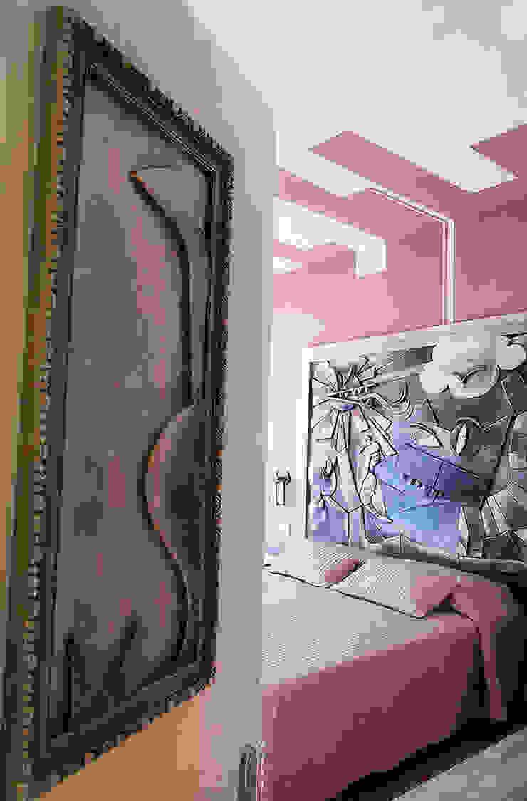 """Camera """"Lo Stregatto"""" Hotel in stile eclettico di Studio Giorgi Barbieri Architetti Eclettico"""