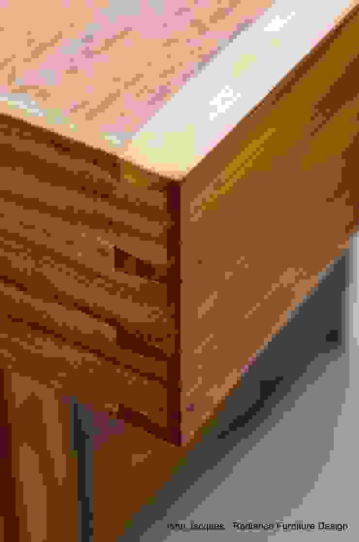 Ellipse Yew and Walnut Computer Bureau.: classic  by Radiance Furniture Design, Classic