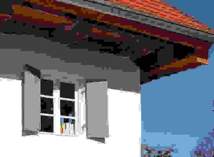 Fassadendetail von heidenreich architektur Landhaus