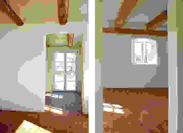 Innenraumansichten Wohnzimmer im Landhausstil von heidenreich architektur Landhaus