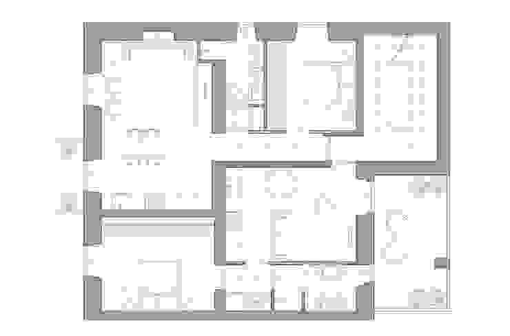 pianta appartamenti di Elisa Rizzi architetto