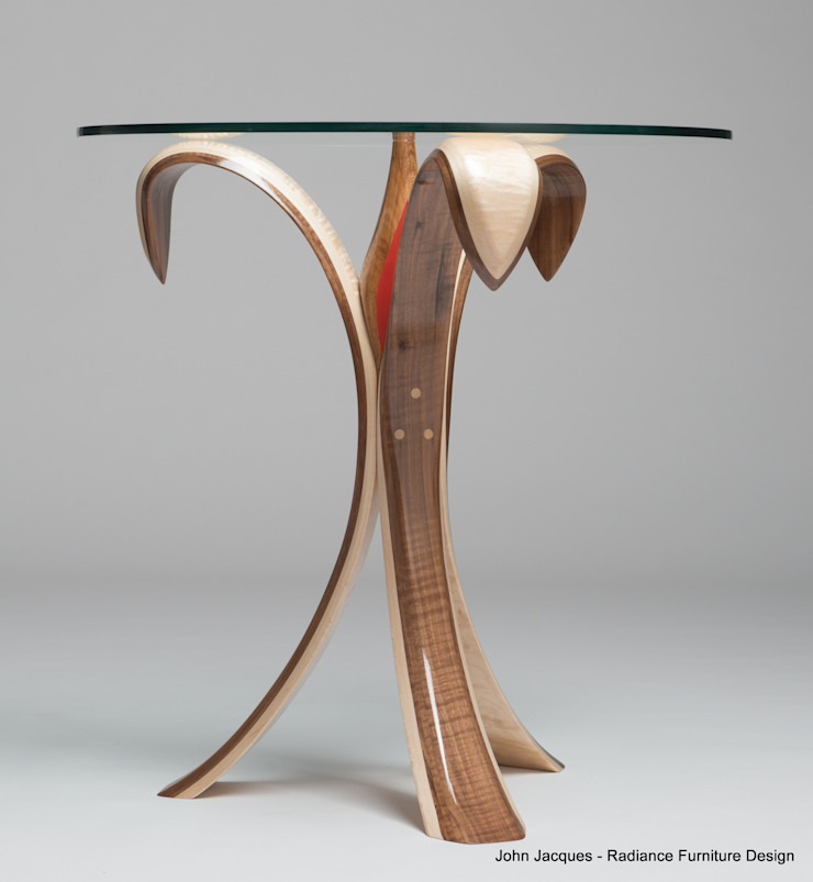 The Bloomin' Lovely Flower Table No2: modern  by Radiance Furniture Design, Modern