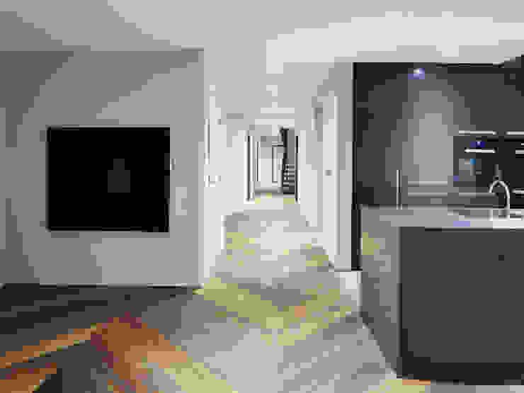 Main Hall Facit Homes Minimalistische gangen, hallen & trappenhuizen
